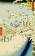 Yabu Street Below Atago by Ando Hiroshige
