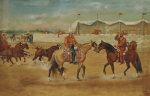 The Arrival Of The Boss At The Rodeo, 1920 by Ernesto Icaza