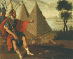 The Pyramids Of Egypt. Les Pyramides D'Egye. The Wonders Of The Ancient World by Cuzco School