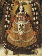 The Virgin Of Pomata by Leonardo Flores