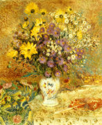A Vase Of Flowers by Georges Lemmen