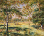 The Glade, 1895 by Pierre Auguste Renoir