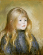 The Head Of A Child by Pierre Auguste Renoir