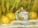 Sugar Bowl And Lemons, 1915 by Pierre Auguste Renoir