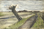 Pollard Willow, 1882 by Vincent Van Gogh