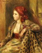 Odalisque, Circa 1895 by Pierre Auguste Renoir