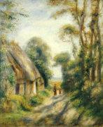 The Outskirts Of Berneval. Environs De Berneval by Pierre Auguste Renoir