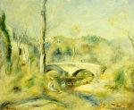 Landscape With Bridge by Pierre Auguste Renoir