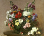 A Bouquet of Mixed Flowers 1881