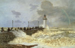 The Quay At Le Havre, 1868 by Claude Monet