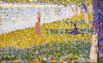 Women On The River Bank, Circa1884 by Georges Seurat