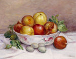 Nature Morte A La Grenade by Pierre Auguste Renoir