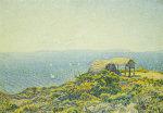 L'Ile Du Levant, Vu Du Cap Benat by Theodore van Rysselberghe