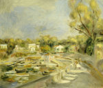 Cagnes Countryside by Pierre Auguste Renoir