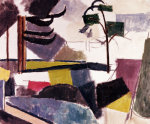 Unfinished Landscape With Tree Branches by Roger de la Fresnaye