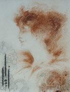 Rejane, 1894 by Aubrey Beardsley