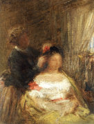 The Hairdresser by Ignace-Henri-Théodore Fantin-Latour