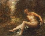 The Huntress by Ignace-Henri-Théodore Fantin-Latour