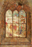 The Stained Glass Window by Odilon Redon