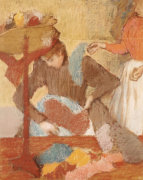 The Hatmaker, Circa 1898 by Edgar Degas