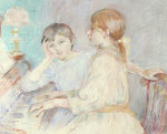 Le Piano, 1888 by Berthe Morisot