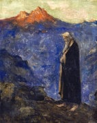 Moses by Lesser Ury