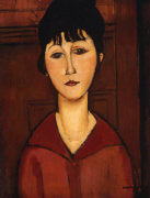 Head of a Young Girl 1916