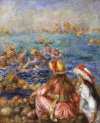 The Bathers, 1892 by Pierre Auguste Renoir