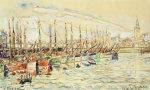 Les Sable D'Olonne, 1922 by Paul Signac