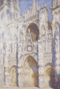 Rouen Cathedral in the Afternoon (The Gate in Full Sun) 1892