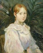 Alice Gamby En Buste by Berthe Morisot