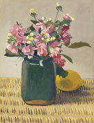 A Bouquet of Flowers and a Lemon 1924
