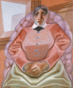 Woman In An Armchair, 1925 by Juan Gris