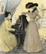 The Great Pains, 1898 by Theophile-Alexandre Steinlen
