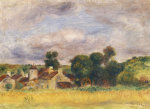 Brittany Countryside, Circa 1892 by Pierre Auguste Renoir