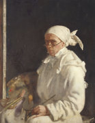The Painter; Self-Portrait With Glasses, 1907 by Sir William Orpen
