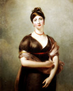 Portrait Of Elizabeth Jennings, In The Pose Of The Venus De' Medici by Sir Thomas Lawrence