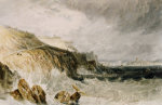Plymouth Citadel, A Gale, 1815 by Joseph Mallord William Turner