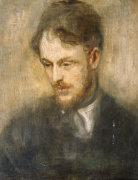 Portrait Of Augustus John R.A. (1878-1961) by Ambrose McEvoy
