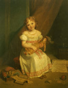 Her Favourite Doll by Jean Augustin Franquelin