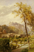 A View of Princes Street Gardens and the National Gallery 1885