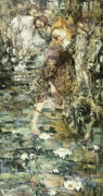 Water Lillies, 1901 by Edward Atkinson Hornel
