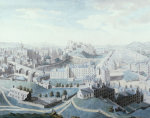 A View Of The City Of Edinburgh And The Surrounding Country, 1789 by Robert Barker