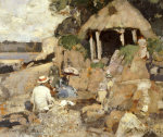 The Summer House, St. Mary's Isle, Kirkcudbright, 1886 by Sir James Guthrie