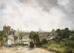 View of the City of London from Sir Richard Steele's Cottage Hampstead c.1832