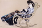 Study For The Last Evening by James Jacques Joseph Tissot