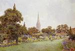 Mrs. Jacobs Garden by Ernest Arthur Rowe