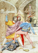 The Death Of Richard II, 1852 by Richard Dadd