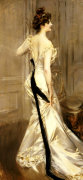 The Black Sash, Circa 1905 by Giovanni Boldini