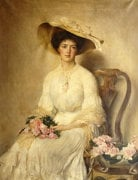 Portrait Of A Lady Seated On A Chair 1893